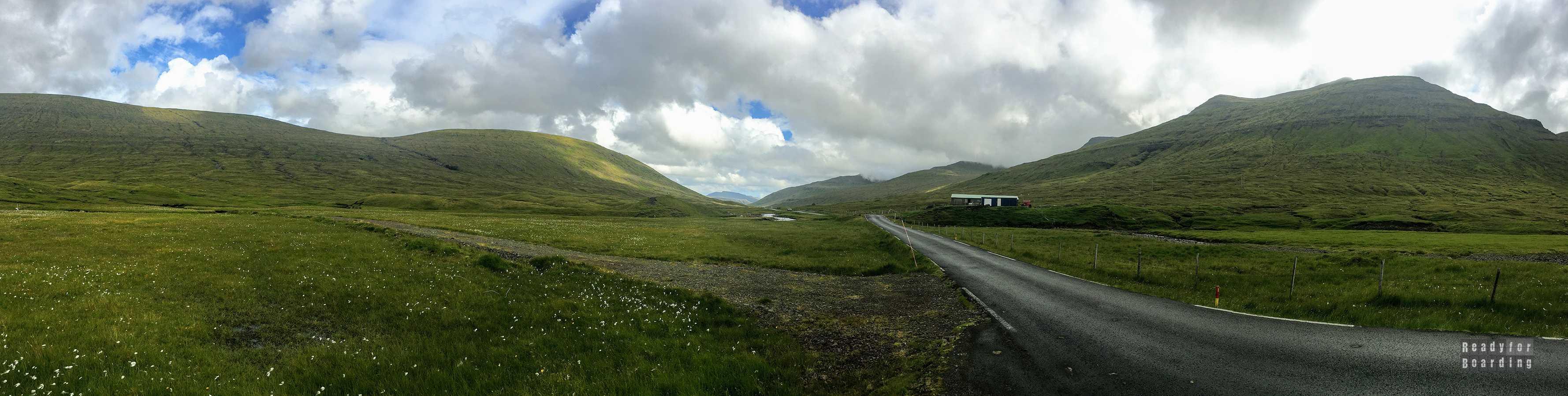 Panorama: Streymoy - Wyspy Owcze