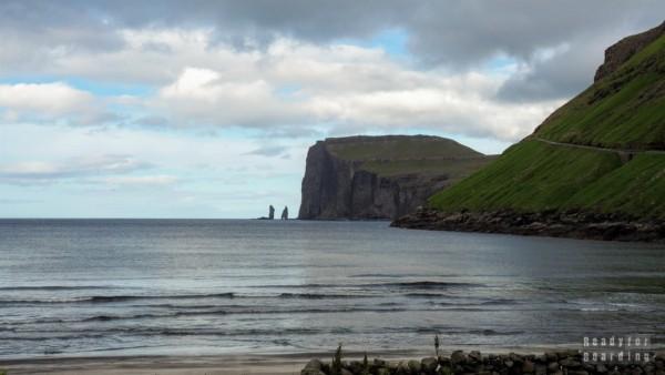 Olbrzym i wiedźma - widok z Tjørnuvík, Streymoy - Wyspy Owcze