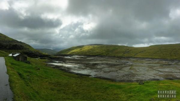 Zbiorniki wodne w okolicach Vestmanny, Streymoy - Wyspy Owcze