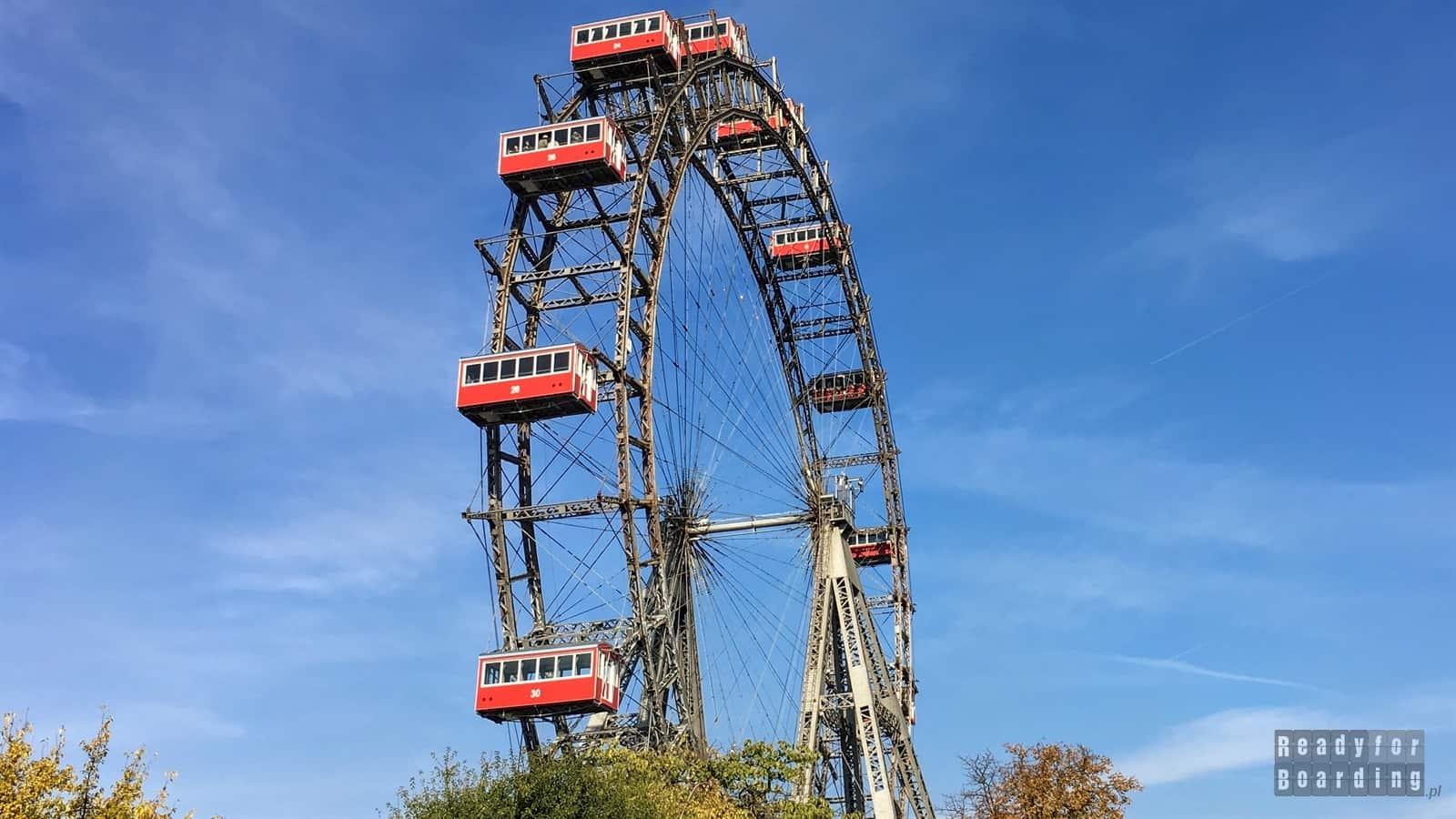 Wiedeń - Park Prater (galeria zdjęć)