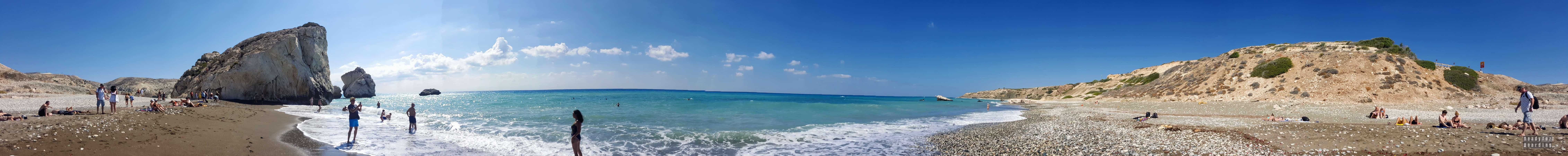 Panorama: Petra tou Romiou - Cypr