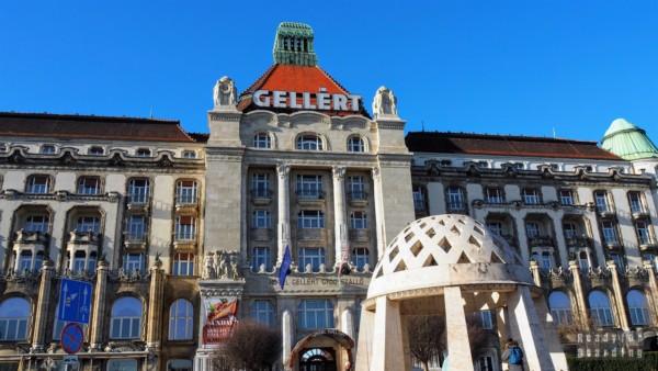 Hotel i termy Gellert, Budapeszt - Węgry