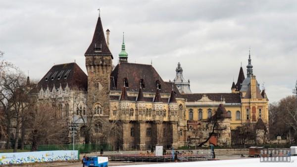 Zamek Vajdahunyad, Budapeszt - Węgry