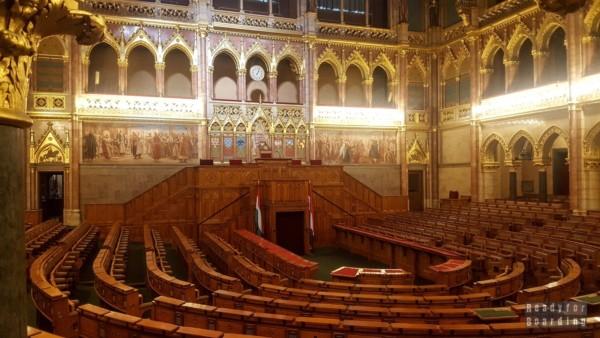 Budynek Parlamentu w Budapeszcie - Węgry