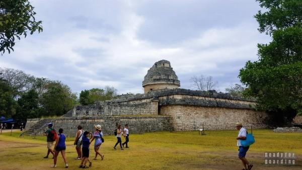 Obserwatorium astronomiczne w Chichén Itzá - Meksyk
