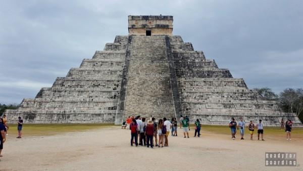 Piramida Kukulkana, Chichén Itzá - Meksyk
