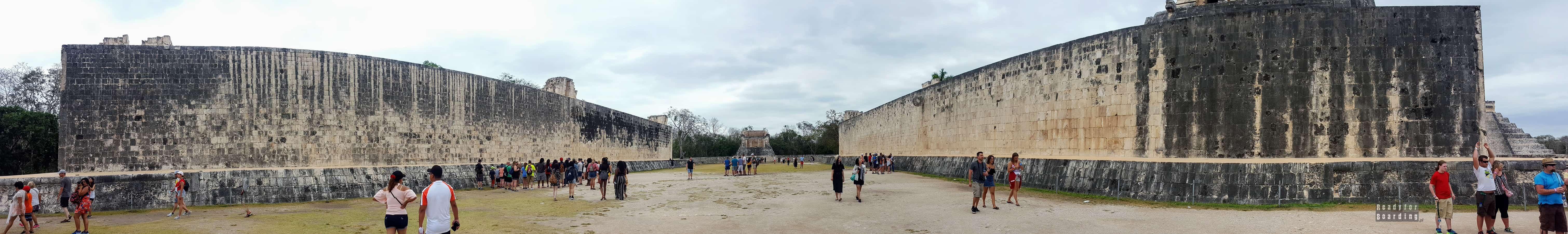 Panorama: Gran Juego de Pelota, Chichén Itzá – Meksyk