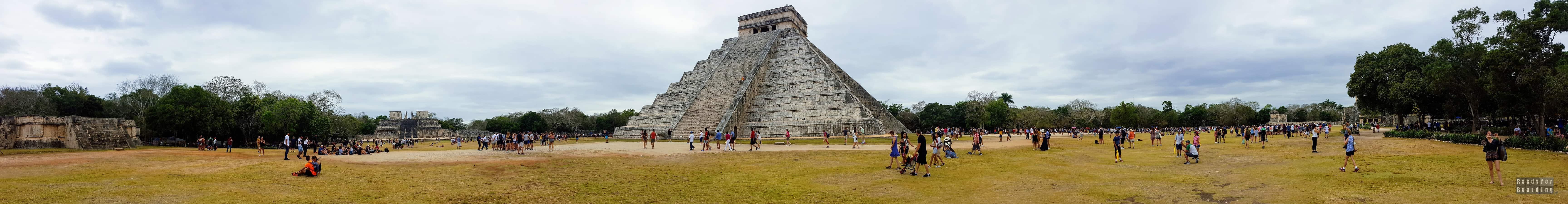 Panorama: Chichén Itzá – Meksyk