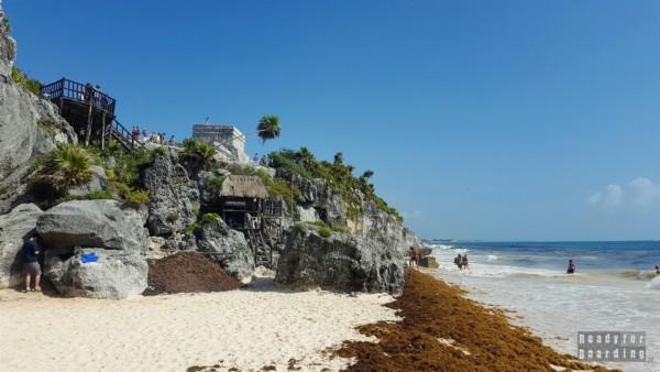 Plaża w Tulum - Meksyk