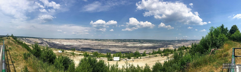 Panorama: Kopalnia Węgla Brunatnego Bełchatów