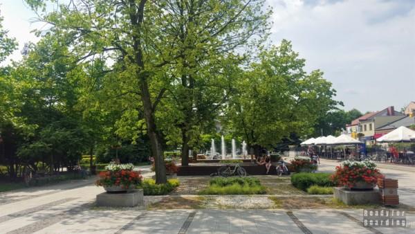 Plac Gabriela Narutowicza w Bełchatowie