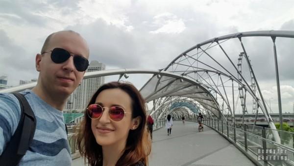 Helix Bridge, Marina Bay - Singapur