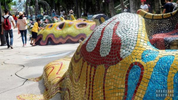Merlion Walk, Sentosa - Singapur