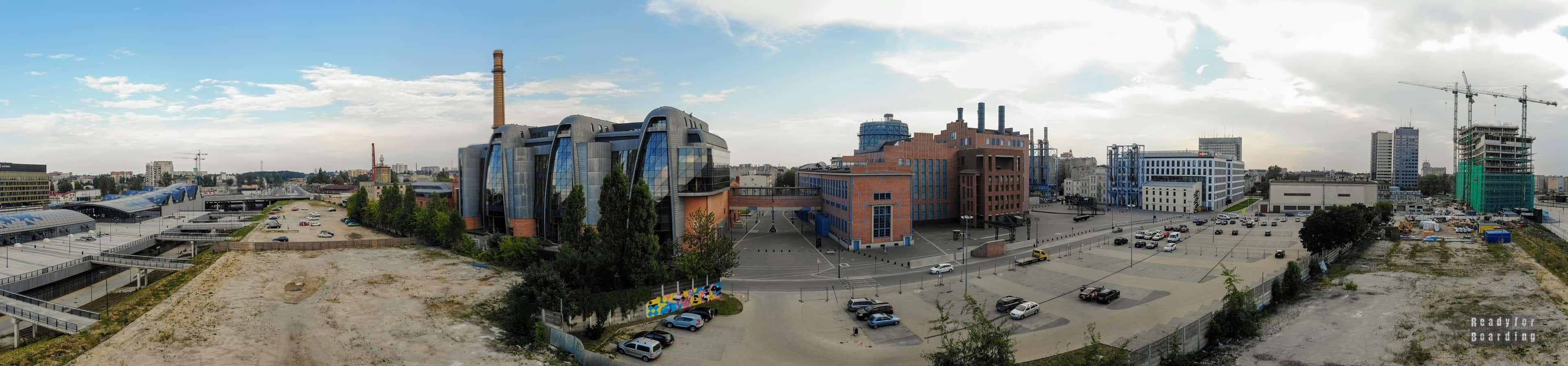 Panorama: EC1 Łódź