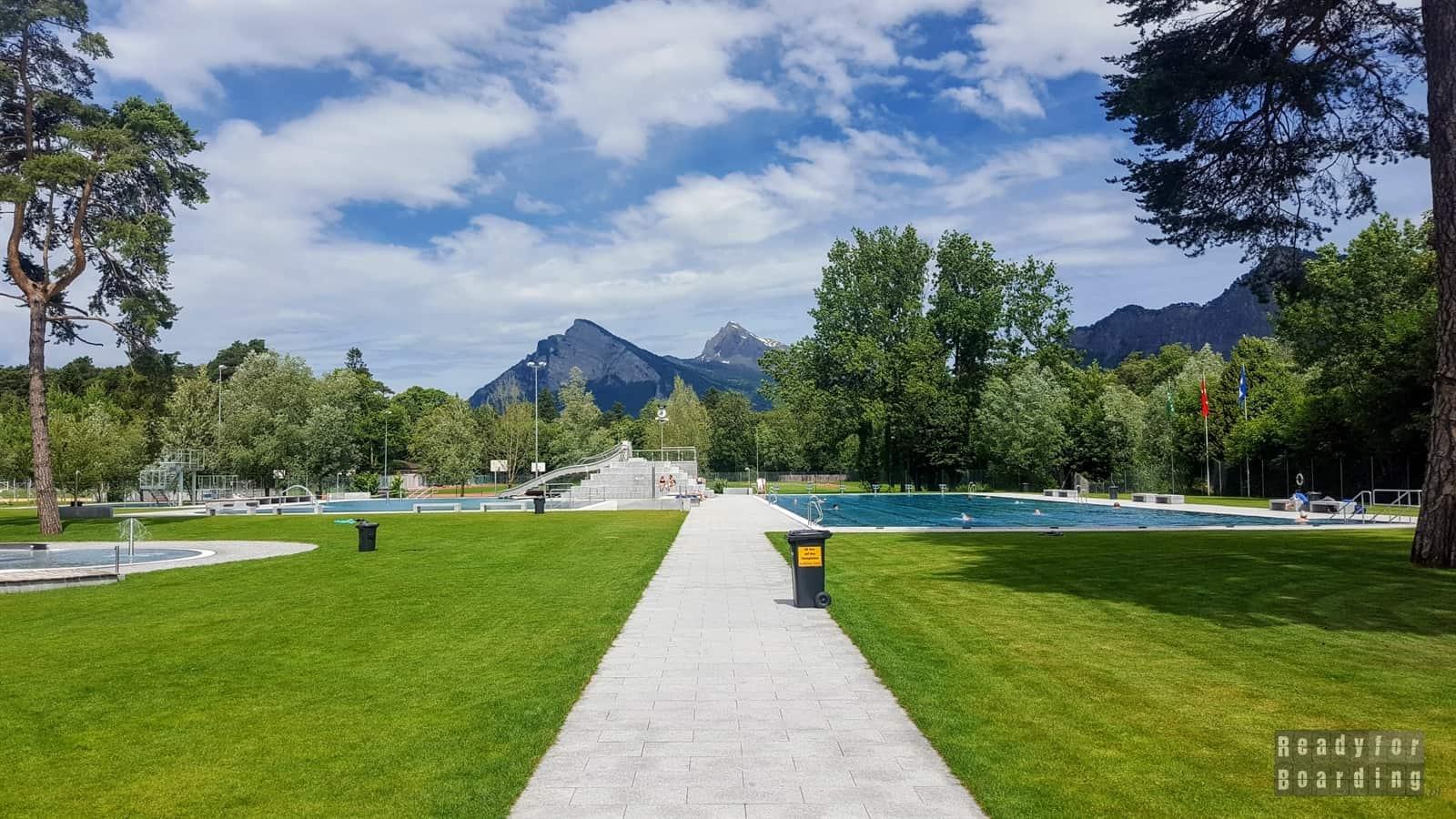 Kempingi w Szwajcarii - Campingplatz Giessen Park