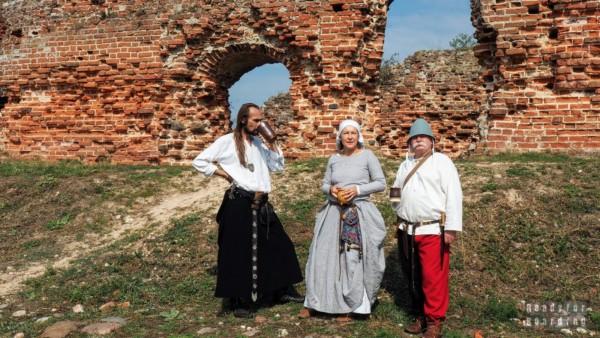 Turniej rycerski w Besiekierach - województwo łódzkie