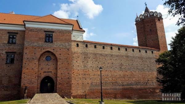 Zamek w Łęczycy, zamki województwa łódzkiego