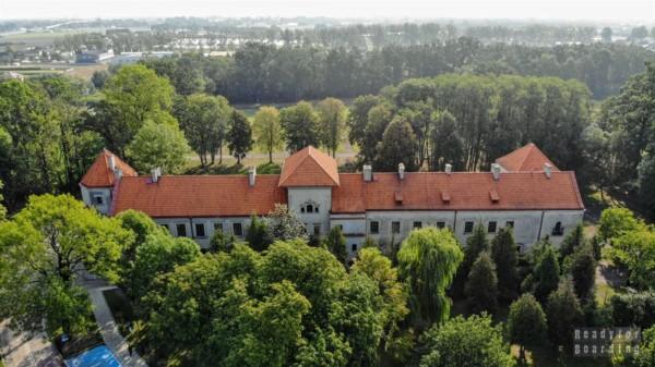 Zamek w Bykach, Piotrków Trybunalski - zamki województwa łódzkiego