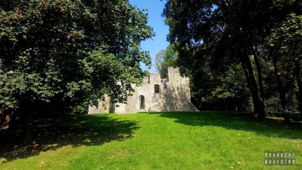 Zamek w Bąkowej Górze, województwo łódzkie