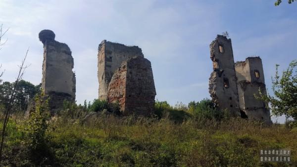 Zamek w Majkowicach, województwo łódzkie
