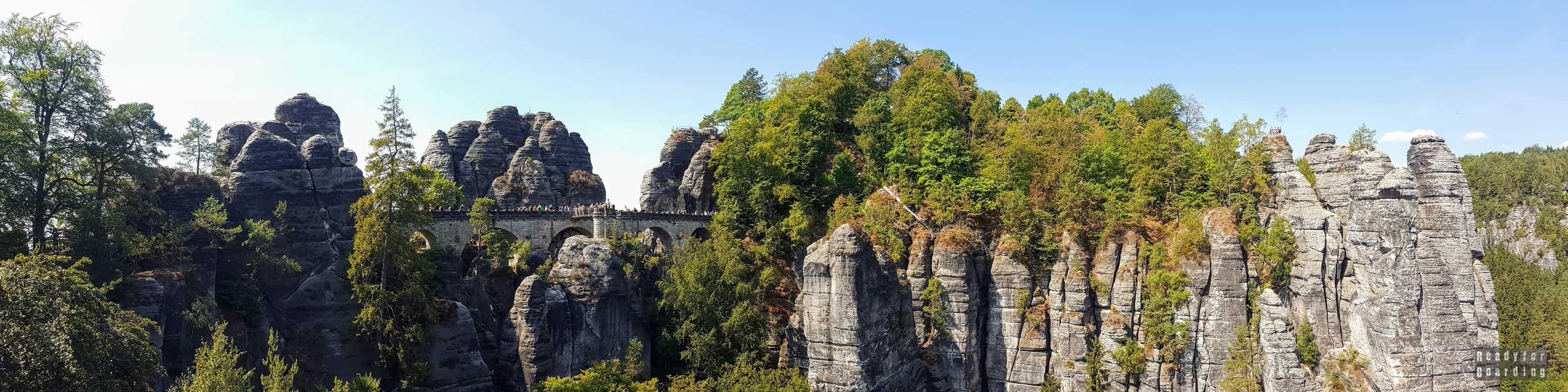 Panorama: Bastei - Niemcy