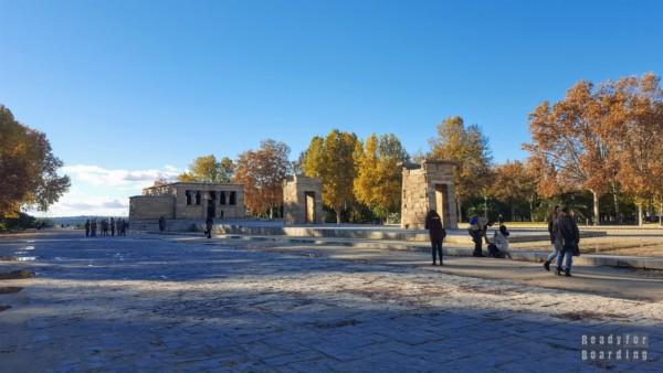Świątynia Debod, Madryt - Hiszpania