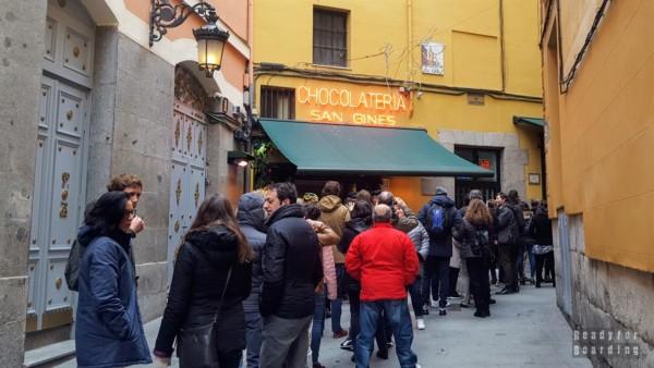 Chocolatería San Ginés, Madryt - Hiszpania