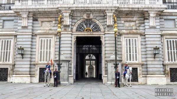 Pałac Królewski w Madrycie - Hiszpania