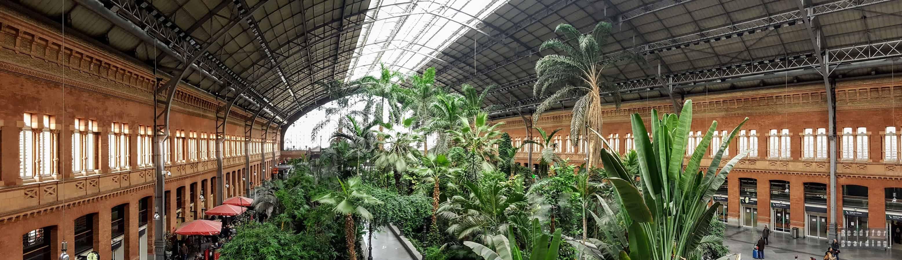 Panorama: Dworzec Madryt Atocha - Hiszpania