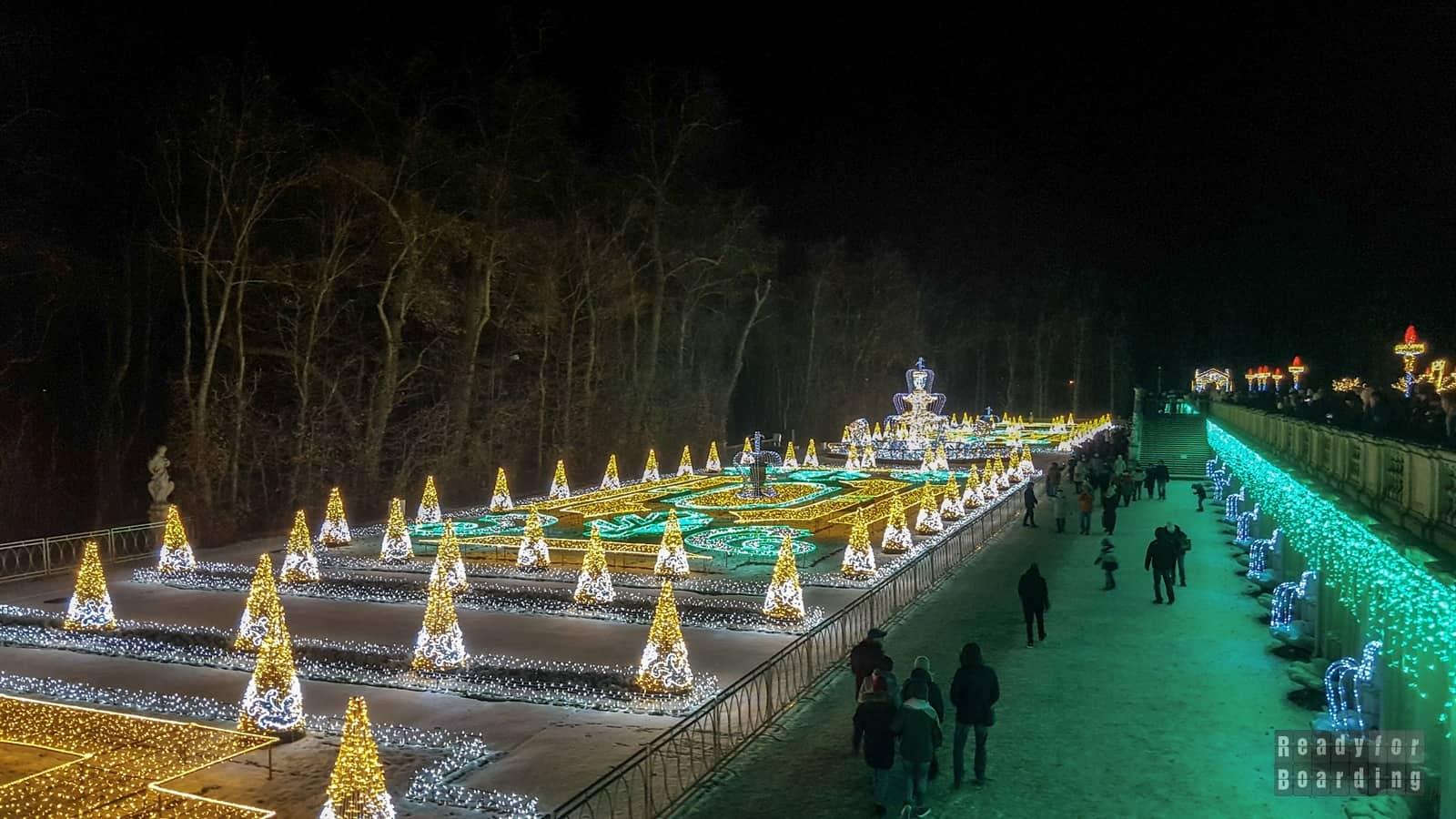 Królewski Ogród światła W Wilanowie Ready For Boarding