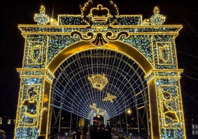 Królewski Ogród Światła w Wilanowie