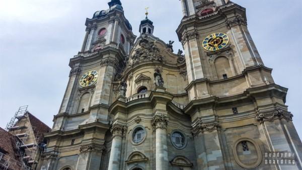 Katedra w St Gallen - Szwajcaria