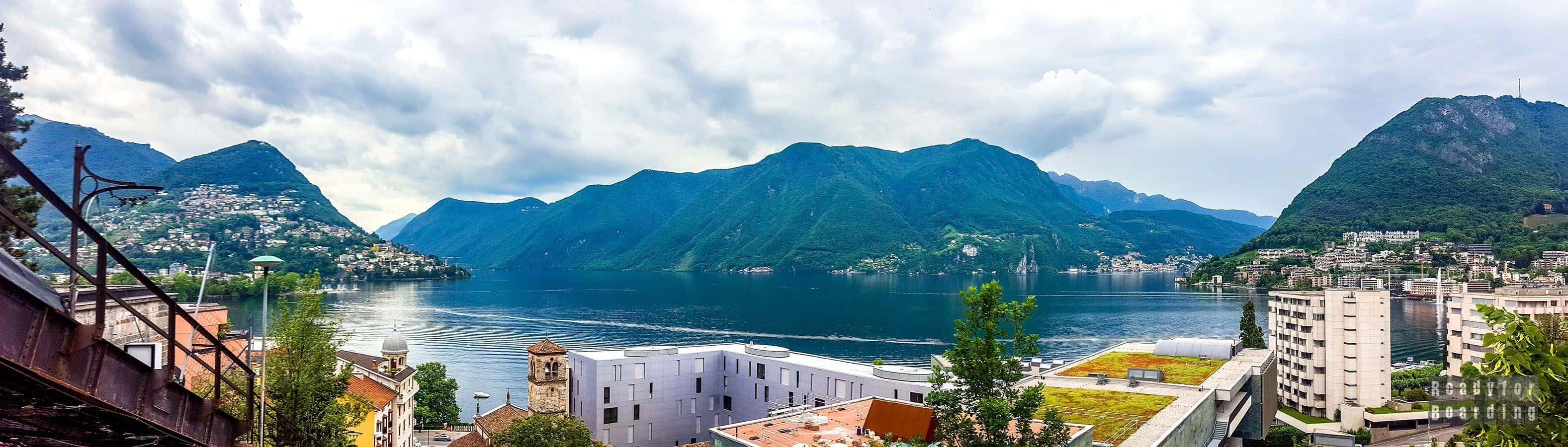 Panorama: Lugano - Szwajcaria