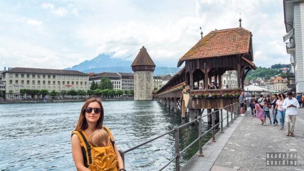 Most Kapliczny, Lucerna - Szwajcaria