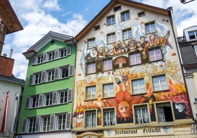 restauracja Fritschi, Lucerna - Szwajcaria