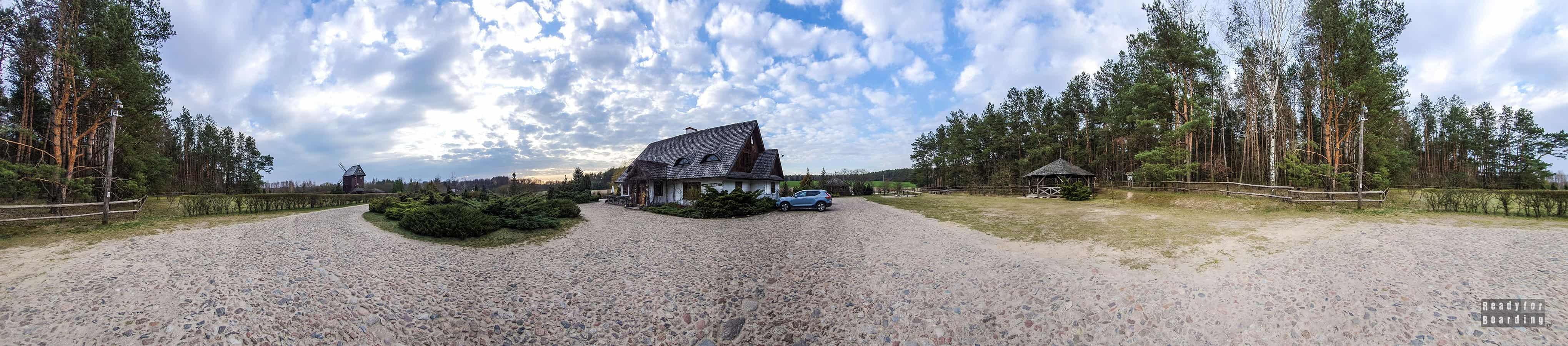 Panorama: Uroczysko Zaborek