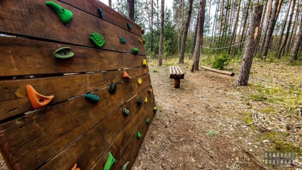 Leśny plac zabaw - Uroczysko Zaborek
