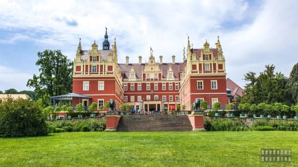 Nowy Zamek, Park Mużakowski - Saksonia, Niemcy
