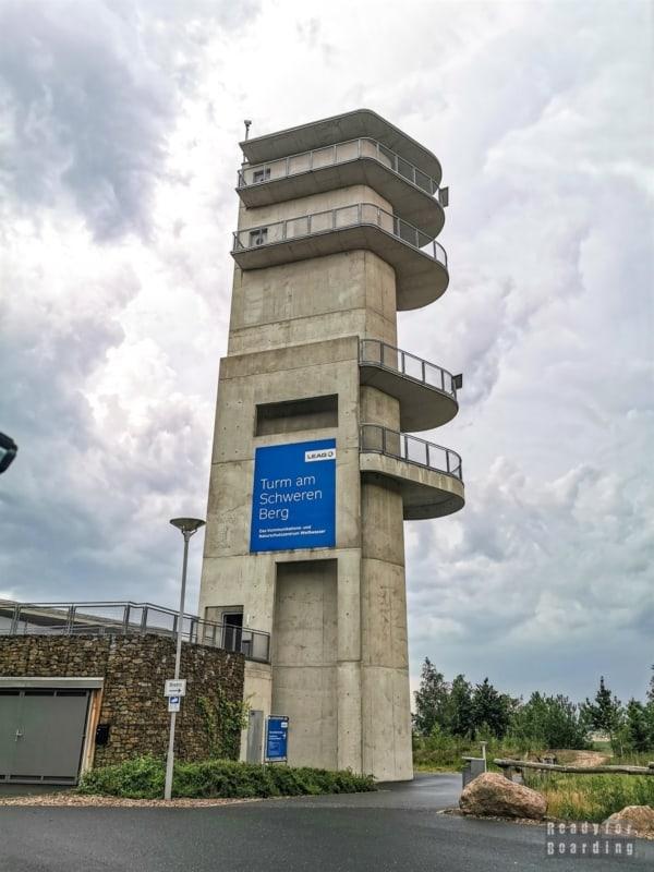 Wieża widokowa, Tagebau Nochten - Saksonia, Niemcy