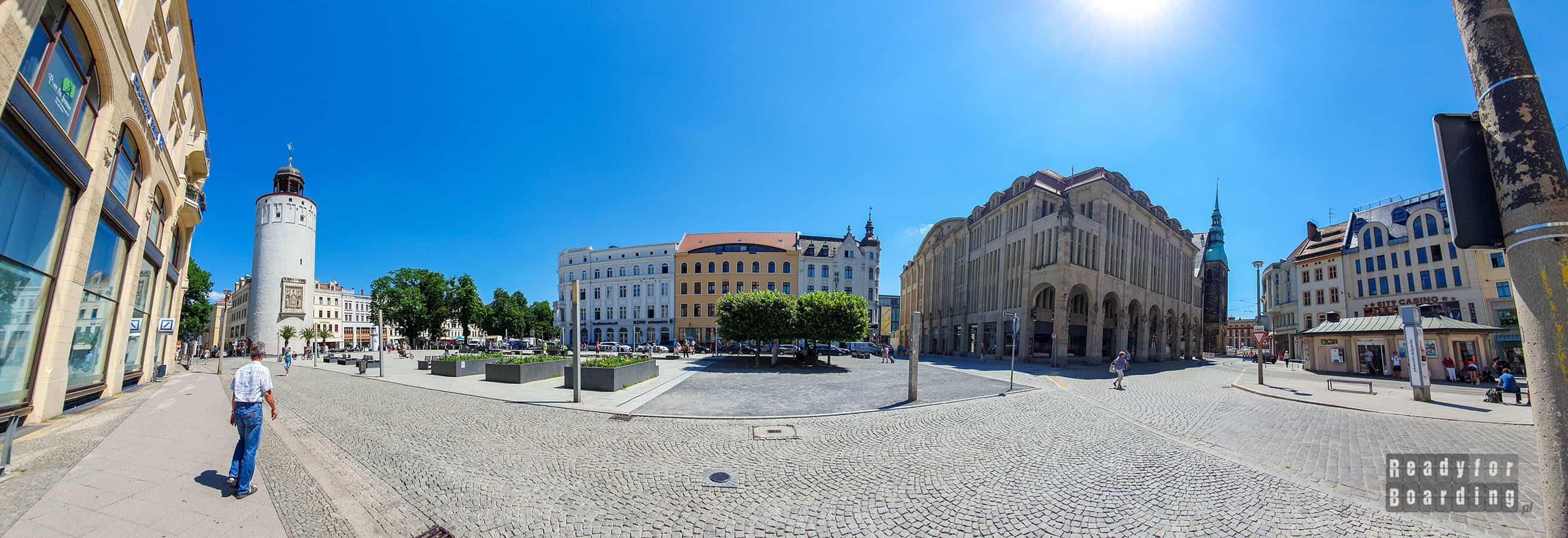 Panorama: Gorlitz - Saksonia, Niemcy