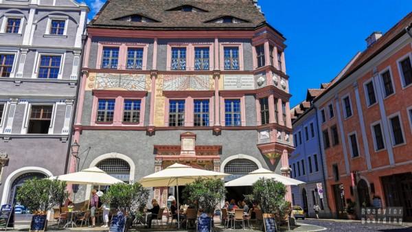 Budynek apteki ratuszowej, Goerlitz - Saksonia, Niemcy