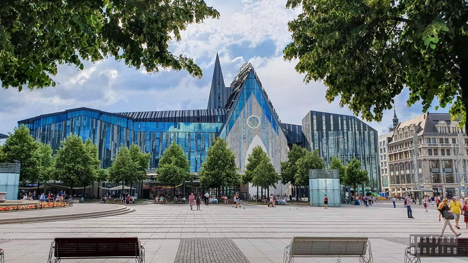 Saksonia - Lipsk i okolice (galeria zdjęć)