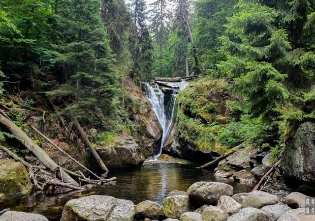 Wodospad Szklarki - Szklarska Poręba