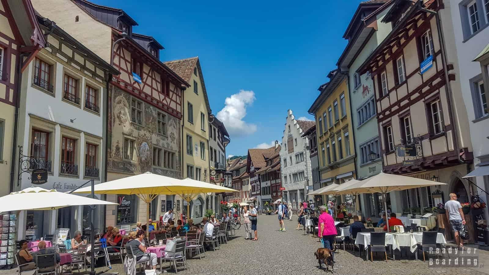 Szwajcaria - Stein am Rhein (galeria zdjęć)