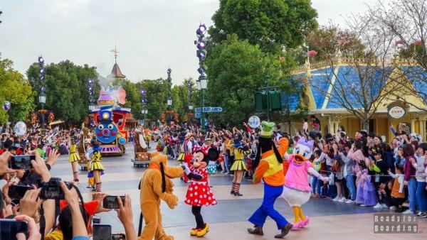 Szanghaj Disneyland Park (Shanghai Disney Resort), Chiny