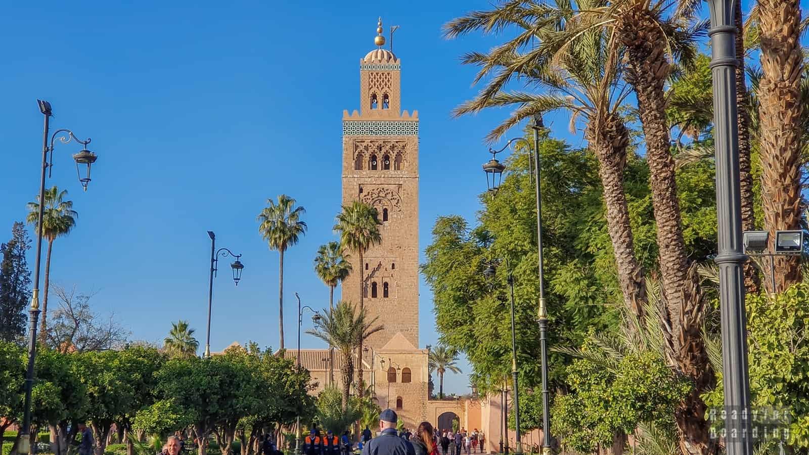 Maroko - Marrakesz (galeria zdjęć)
