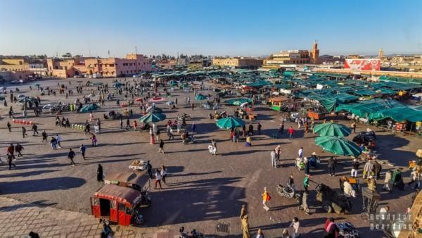 Dżami al-Fana, Marrakesz - Maroko