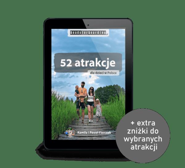 eBook: 52 atrakcje dla dzieci w Polsce - Ready for Boarding