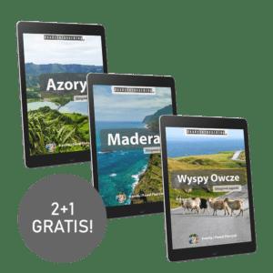 """Zestaw eBooków: """"Madera"""" + """"Azory"""" + """"Wyspy Owcze"""" (2+1 gratis!)"""