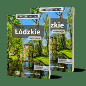 """Zestaw 2x książka """"Łódzkie dla każdego!"""" (druga taniej, na prezent!)"""